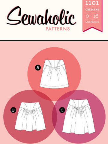 Sewaholic Patterns: 1101 Crescent Skirt Sewing Pattern
