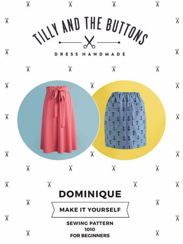 Tilly and the Buttons: Dominique - Skirt Sewing Pattern