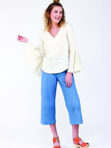 Megan Nielsen: Dove Blouse Sewing Pattern