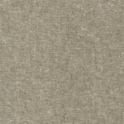 Robert Kaufman: Essex Yarn Dyed Linen/Cotton Blend Solid - Olive