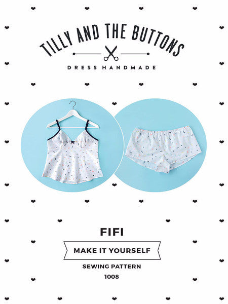 Tilly and the Buttons: Fifi - Pyjamas Sewing Pattern