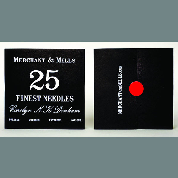 Merchant & Mills: Finest Sewing Needles 25