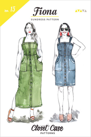 Closet Case Patterns: Fiona Sundress Sewing Pattern