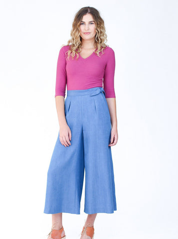 Megan Nielsen: Flint Trousers & Shorts Sewing Pattern