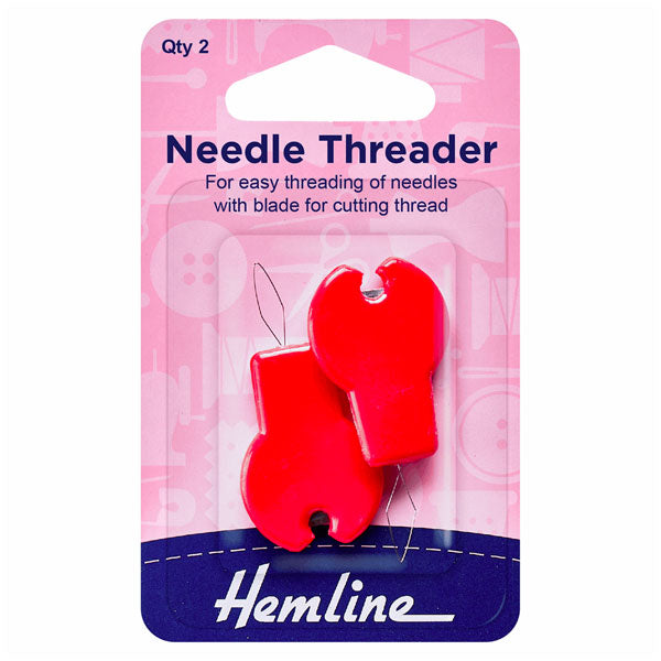 Hemline Needle Threader With Cutter