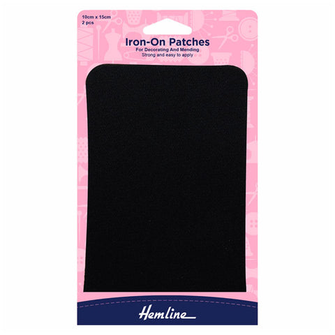 Hemline Cotton Twill Patches: 10 x 15cm