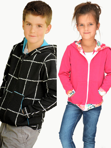Hey June Handmade: Hatteras Hoodie Sewing Pattern 2-14 yrs (PDF Only)
