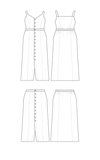 Cashmerette: Holyoke Maxi Dress & Skirt Sewing Pattern