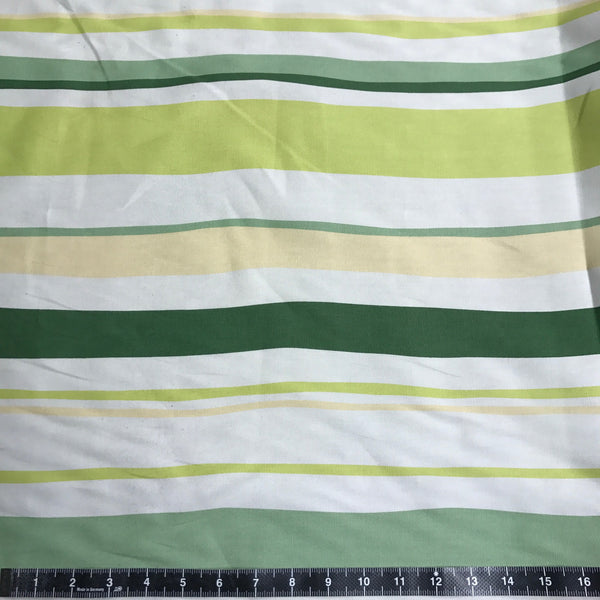Sevenberry: Green & Yellow Stripes