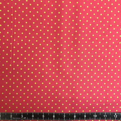 Blend Fabrics: All Is Bright - Dewdrops Red