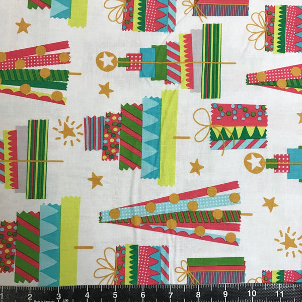 Blend Fabrics: All Is Bright - Holiday Washi White