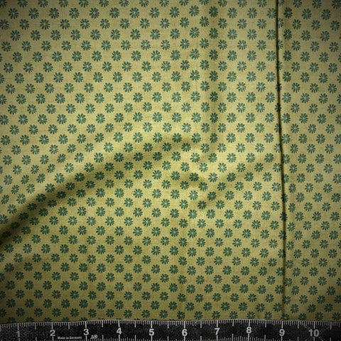 Liberty Fabrics: The English Garden - Floral Dot (Green)