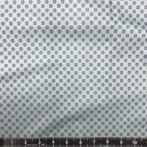 Liberty Fabrics: The English Garden - Floral Dot (Blue)