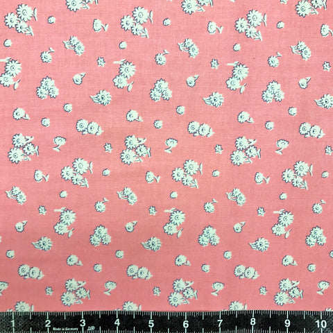 Liberty Fabrics: The English Garden - Tumbling Daisy (Pink)