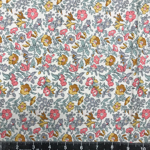 Liberty Fabrics: The English Garden - Mamie (Yellow Flower)