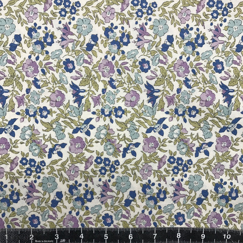 Liberty Fabrics: The English Garden - Mamie (Lilac Flower)