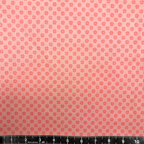 Liberty Fabrics: The English Garden - Floral Dot (Pink)