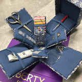 Liberty Fabrics: Compact Fold-Out Sewing Kit