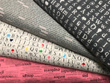 Windham Fabrics: Word Play - White Squares