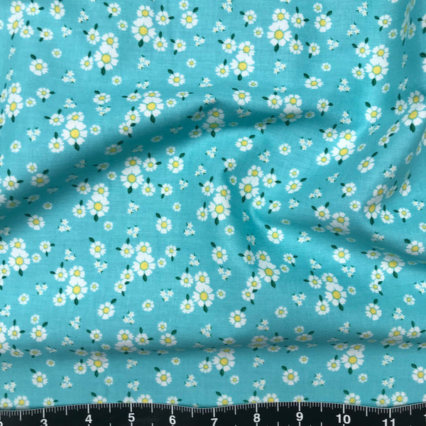 Riley Blake: Happiness is Handmade - Happiness Floral Aqua