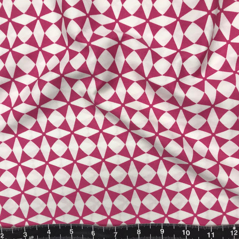 Art Gallery Fabrics: Blush - Windmill Magenta