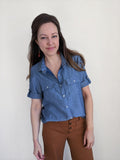 Hey June Handmade: The Amherst Shirt Sewing Pattern (PDF Only)