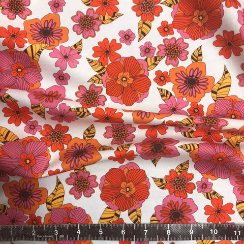Ember Floral Cotton Sateen