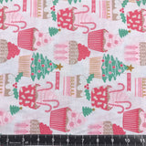 Blend Fabrics: Kringle Sweet Shop - Christmas Cupcakes Ivory