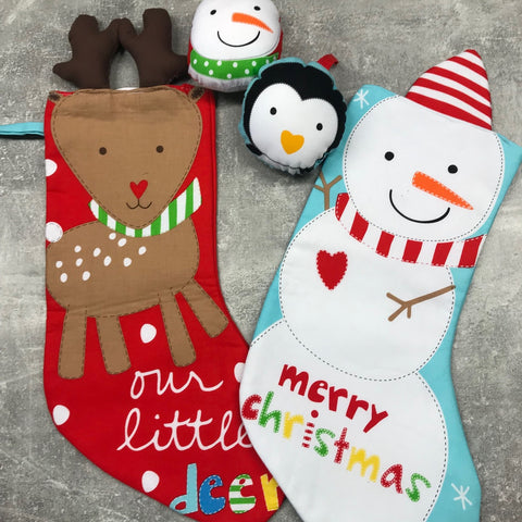 Studio e: Huggable & Loveable Holiday Stockings Panel