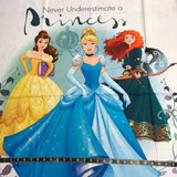 Camelot Fabrics: Disney Never Underestimate a Princess Panel