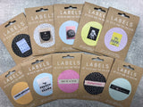 "Kylie and the Machine: ""Made With Love And Swear Words"" Woven Labels - Pack of 8"
