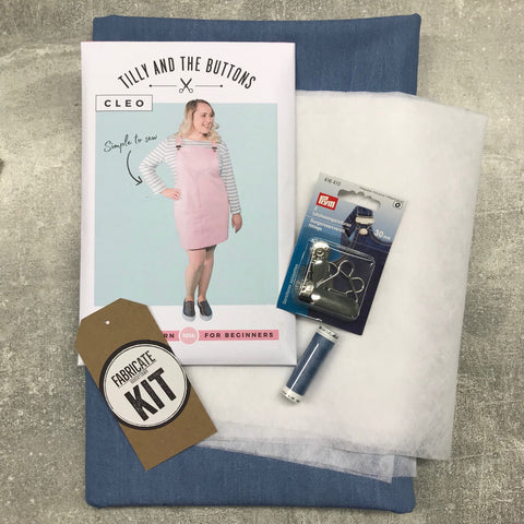 Fabricate Kit: Tilly and the Buttons Cleo Dungaree Dress