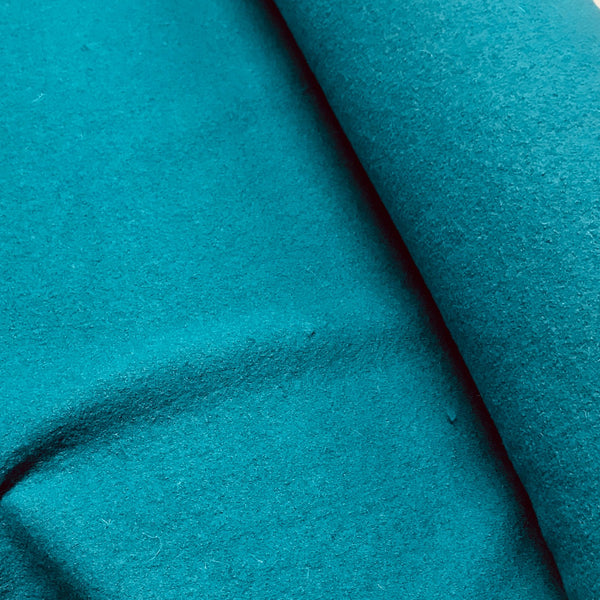 Teal 100% Boiled Wool