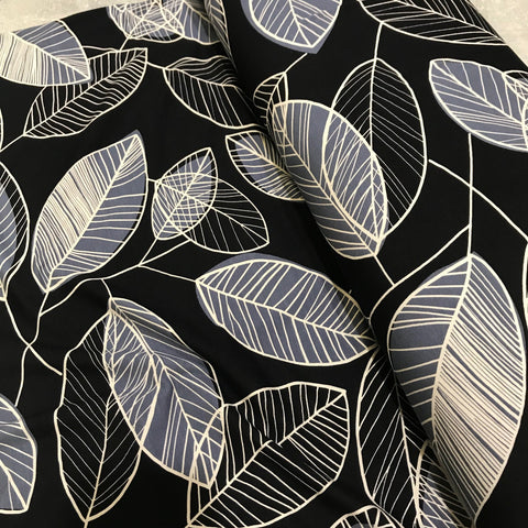 Giant Leaf for Mankind (Grey) Viscose Jersey
