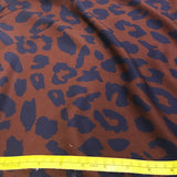 Mind the MAKER: Urban Leo Brown Viscose Twill