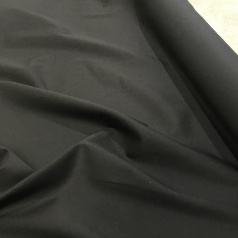 Black Pima Cotton Lawn