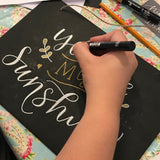 Calligraphy Chalkboard Workshop