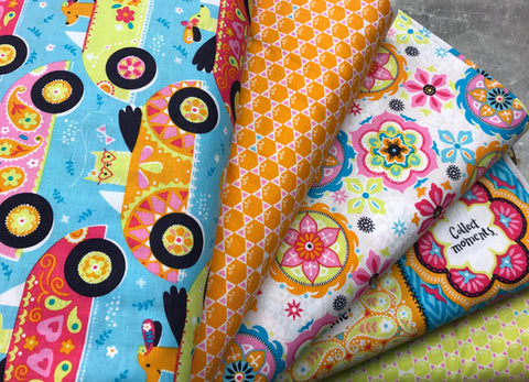 Fat Quarter Bundle: Blend Fabrics - Inspirit