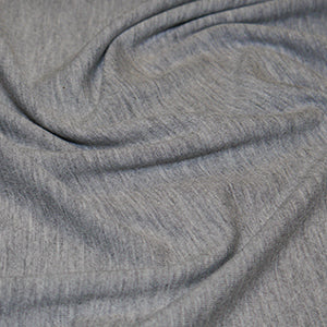 John Louden: Mediumweight Plain Jersey - Light Grey