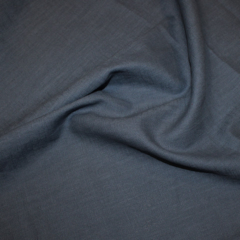 John Louden: Enzyme Washed Linen - Denim
