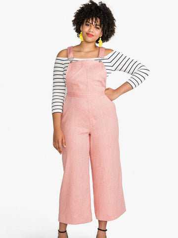 Closet Core Patterns: Jenny Overalls & Trousers Sewing Pattern