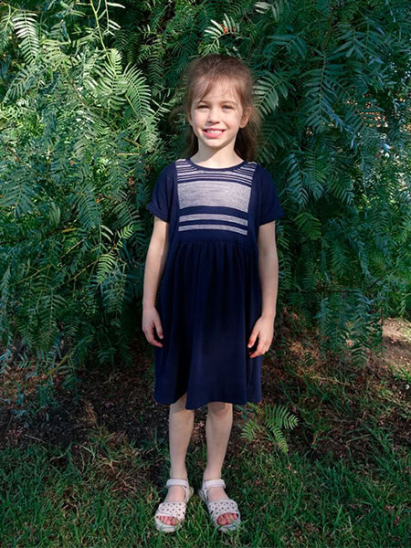 Style Arc: Lacey Kids Dress Sewing Pattern (Ages 1-8)