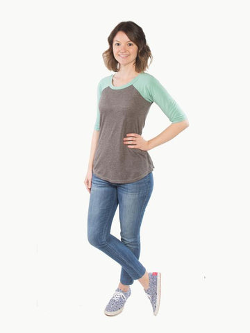 Hey June Handmade: The Lane Raglan Sewing Pattern (PDF Only)
