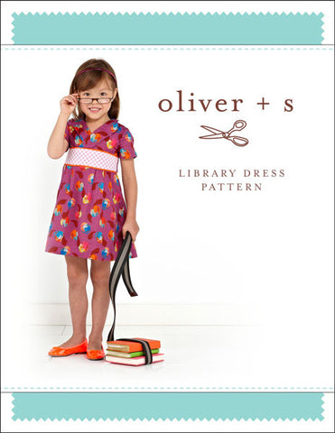 Oliver + S: Library Dress Sewing Pattern