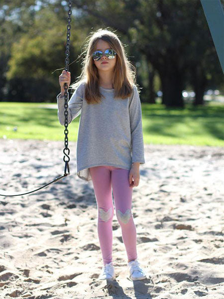 Megan Nielsen: Mini Virginia Children's Leggings Sewing Pattern