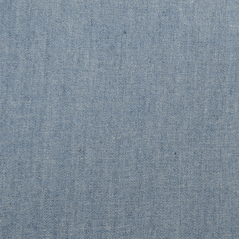 Light Blue Solid Denim Chambray 4.5oz