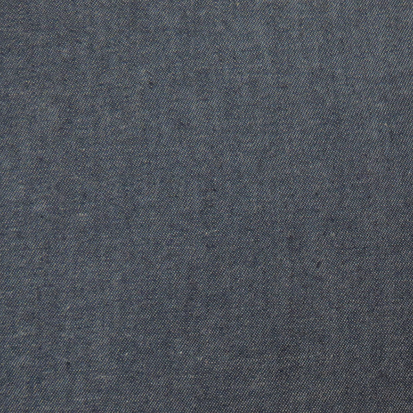 Dark Blue Solid Denim Chambray 4.5oz