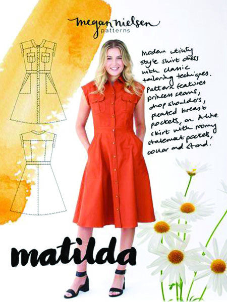 Megan Nielsen: Matilda Shirt Dress Sewing Pattern