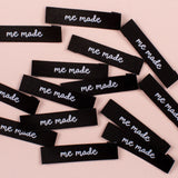 "Kylie and the Machine: ""Me Made"" Woven Labels - Pack of 8"