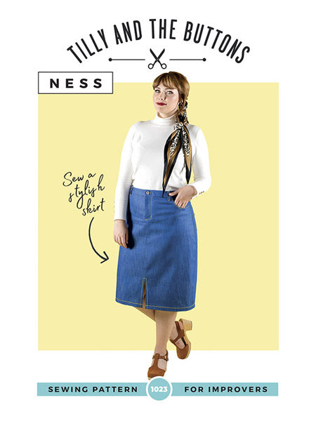 Tilly and the Buttons: Ness Skirt Sewing Pattern